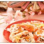 ひな祭りで食べる物の意味と由来は?ちらし寿司や桜餅などを紹介